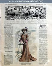 LA MODE ILLUSTREE  numéro 26 du 29 juin 1902