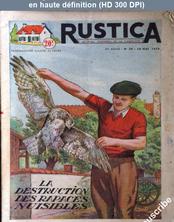 RUSTICA numéro 20 du 18 mai 1952