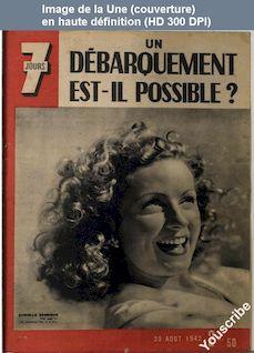 7 JOURS numéro 94 du 23 août 1942