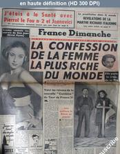 FRANCE DIMANCHE numéro 219 du 05 novembre 1950
