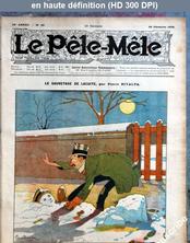 LE PELE MELE  numéro 52 du 26 décembre 1909