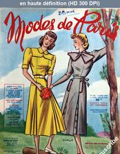 MODES DE PARIS numéro 138 du 05 août 1949