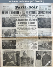 PARIS SOIR du 08 février 1934
