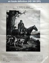 LA SEMAINE DES FAMILLES  numéro 32 du 09 novembre 1878