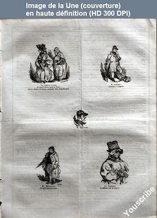 LE CHARIVARI  numéro 140 du 20 mai 1835