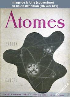 ATOMES numéro 58 du 01 janvier 1951