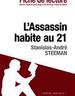 L'Assassin habite au 21, Stanislas-André Steeman - Fiche de lecture