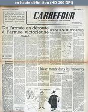 CARREFOUR numéro 8 du 14 octobre 1944