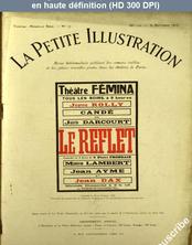 LA PETITE ILLUSTRATION THEATRE  numéro 116 du 30 septembre 1922