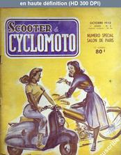 SCOOTER ET CYCLOMOTO numéro 4 du 01 octobre 1952