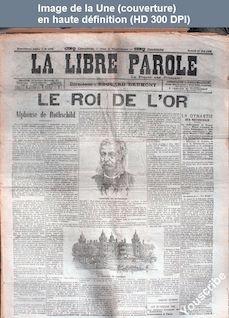 LA LIBRE PAROLE  numéro 4785 du 27 mai 1905