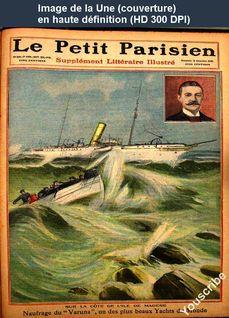 LE PETIT PARISIEN ILLUSTRE  numéro 1089 du 19 décembre 1909