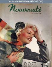 NOUVEAUTE numéro 8 du 27 février 1938
