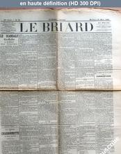 LE BRIARD  numéro 21 du 16 mars 1898
