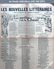 LES NOUVELLES LITTERAIRES  numéro 728 du 26 septembre 1936