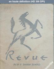 REVUE DE LA 5 EME DIVISION BLINDEE numéro 36 du 15 octobre 1948