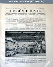 LE GENIE CIVIL  numéro 601 du 16 décembre 1893