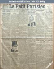 LE PETIT PARISIEN  numéro 13634 du 26 février 1914