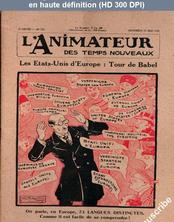 L' ANIMATEUR DES TEMPS NOUVEAUX  numéro 220 du 23 mai 1930