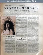 NANTES MONDAIN numéro 16 du 18 janvier 1902