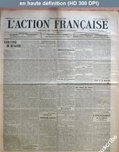 L' ACTION FRANCAISE  numéro 303 du 28 décembre 1912