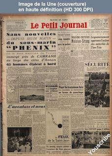 LE PETIT JOURNAL  numéro 27908 du 17 juin 1939