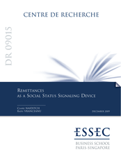 Remittances as a Social Status Signaling Device