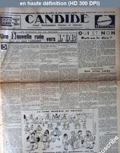 CANDIDE numéro 754 du 25 août 1938