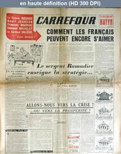 CARREFOUR numéro 232 du 23 février 1949