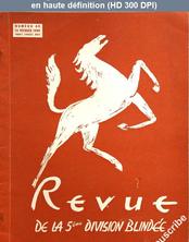 REVUE DE LA 5 EME DIVISION BLINDEE numéro 40 du 15 février 1949