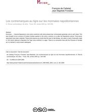 Les contremarques au tigre sur les monnaies napoléoniennes - article ; n°160 ; vol.6, pg 343-358
