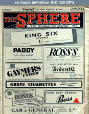 THE SPHERE  numéro 2310 du 29 avril 1944