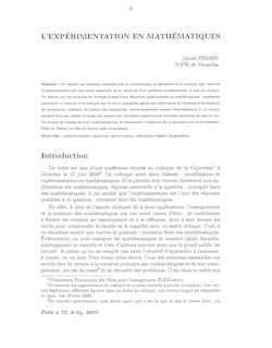 Introduction - IREM de Grenoble