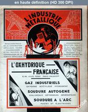 L' INDUSTRIE METALLIQUE  numéro 4 du 01 novembre 1934