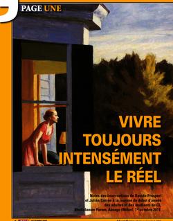 VIVRE TOUJOURS INTENSéMENT LE RéEL