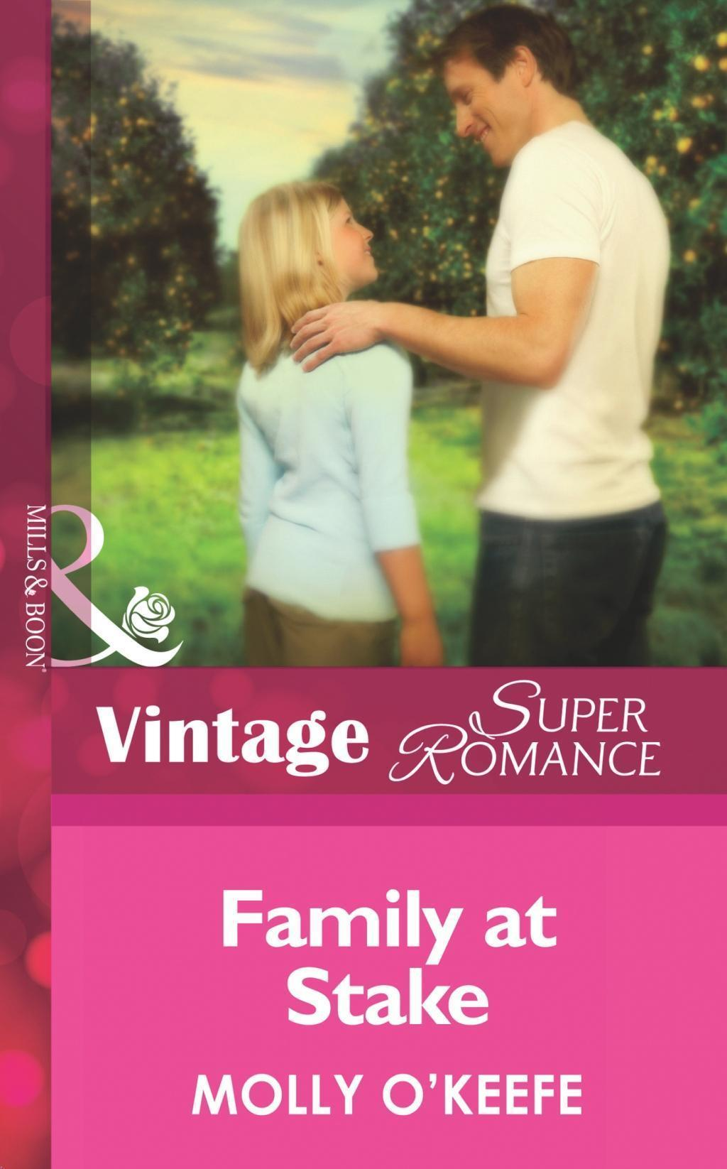 Family at Stake (Mills & Boon Vintage Superromance) (Single Father, Book 15)