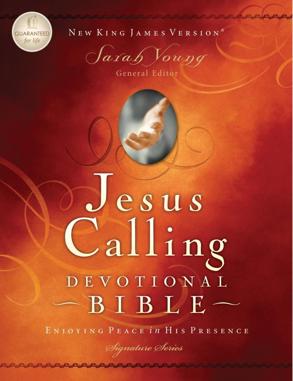 NKJV, Jesus Calling Devotional Bible, eBook