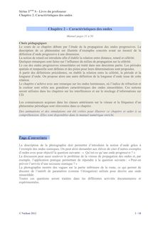 Correction chapitre 2 - Physique-Chimie Sirius 2012