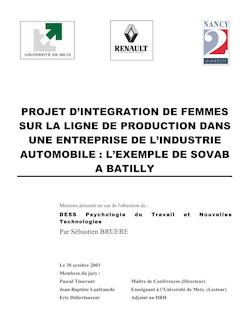 Rapport de stage Maury Marc Février 2010 - Avril 2010