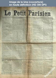 LE PETIT PARISIEN  numéro 5708 du 13 juin 1892