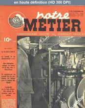 NOTRE METIER LA VIE DU RAIL numéro 168 du 27 septembre 1948