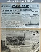 PARIS SOIR numéro 255 du 04 mars 1941