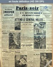 PARIS SOIR numéro 370 du 06 juillet 1941