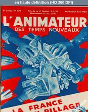 L' ANIMATEUR DES TEMPS NOUVEAUX  numéro 372 du 21 avril 1933