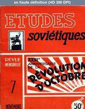 ETUDES SOVIETIQUES numéro 7 du 01 novembre 1948