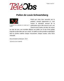 Pollen de Louie Schwartzberg