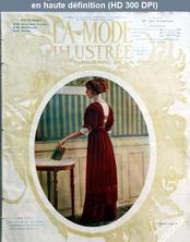 LA MODE ILLUSTREE  numéro 52 du 24 décembre 1911