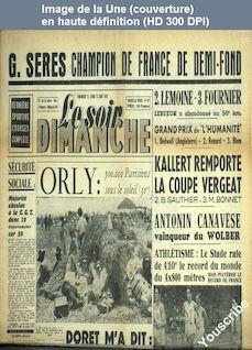 LE SOIR DIMANCHE  numéro 87 du 12 juin 1950