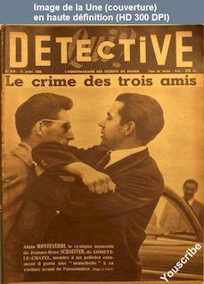 QUI DETECTIVE numéro 419 du 12 juillet 1954