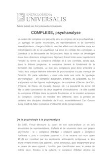 Definition rencontre psychanalyse